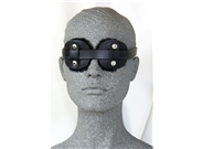 Leather Disc Blindfold