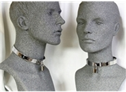 Steel Bondage Collar