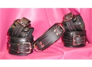 Heavyweight Leather Restraint Set
