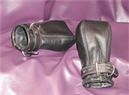 Leather Fist Mitts