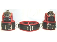 Luxury Leather Restraint Set