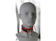 Leather Slimline Bondage Collar